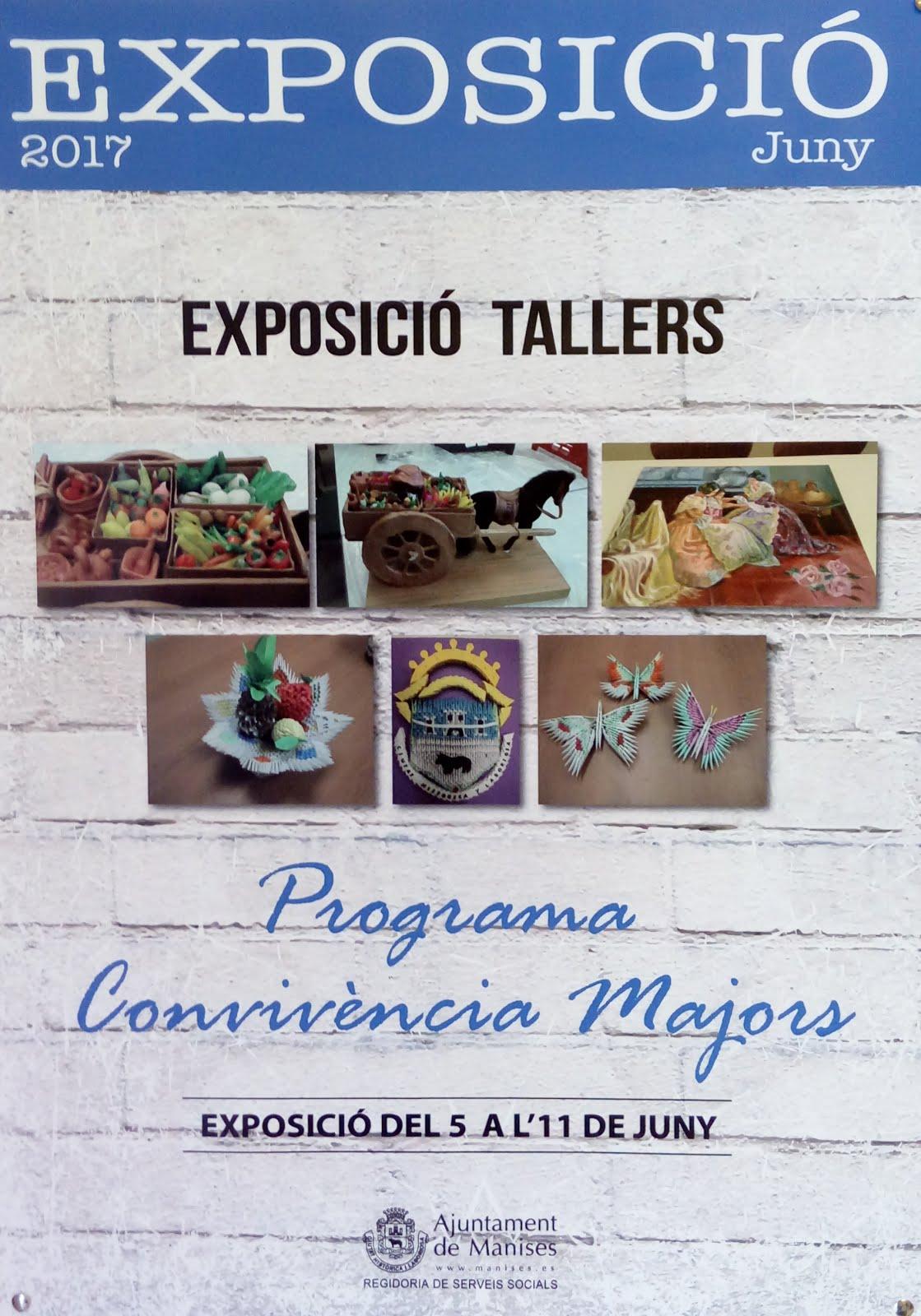 06.06.17 EXPOSICIÓN TALLERES EN LA CASA DE CULTURA.