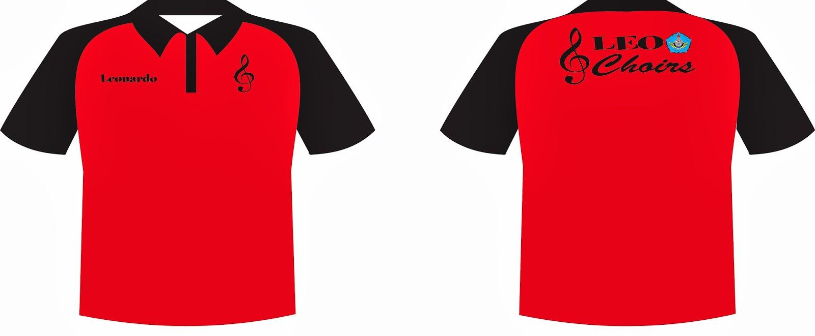 Desain t shirt kerah - Lengan Dan Kerah Berwarna Hitam Tulisan Depan Dan Belakang Bordir Wallpaper Koleksi Desain Kaos