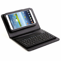 Bluetooth Keyboard Leather Case for Samsung Galaxy Tab 3 7.0  P3200 P3210