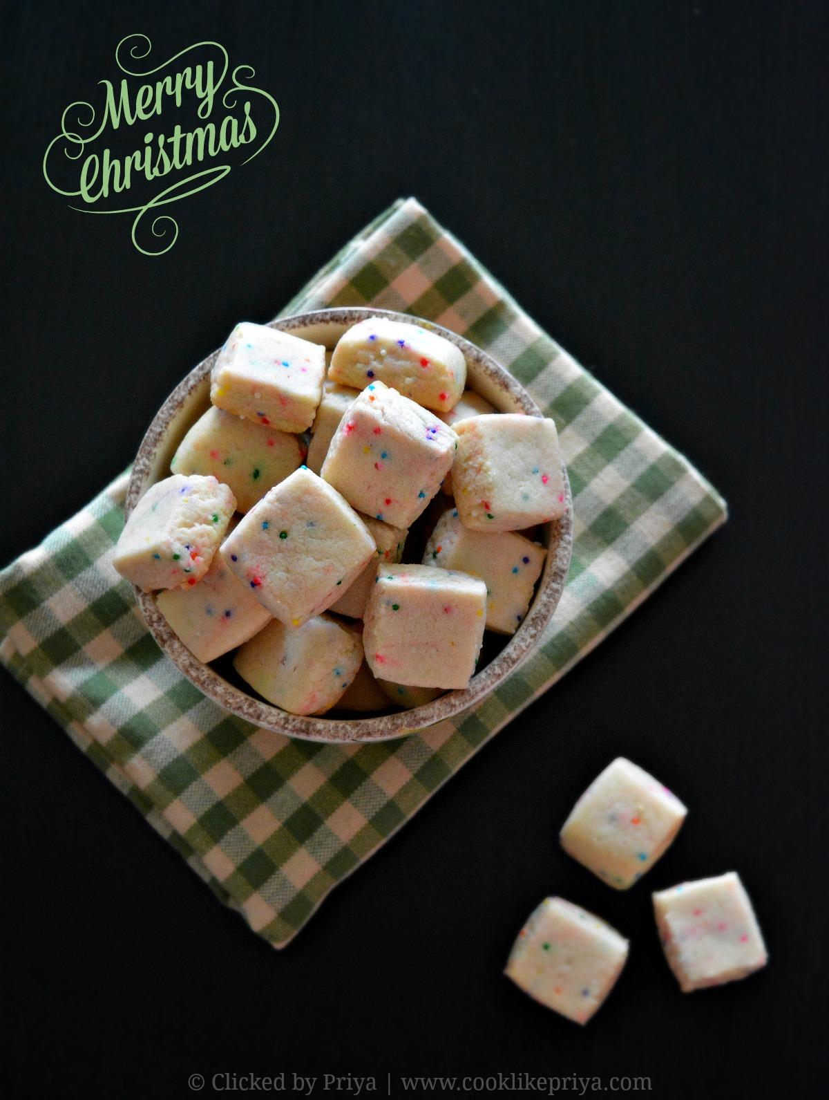 Eggless Christmas Cookie Recipe
