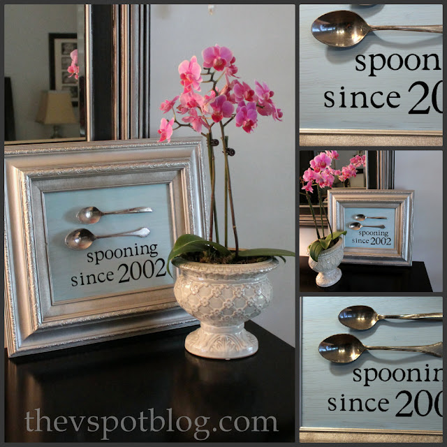 spoons, art, unique, personalized, wedding, anniversary, valentine's gift, inexpensive
