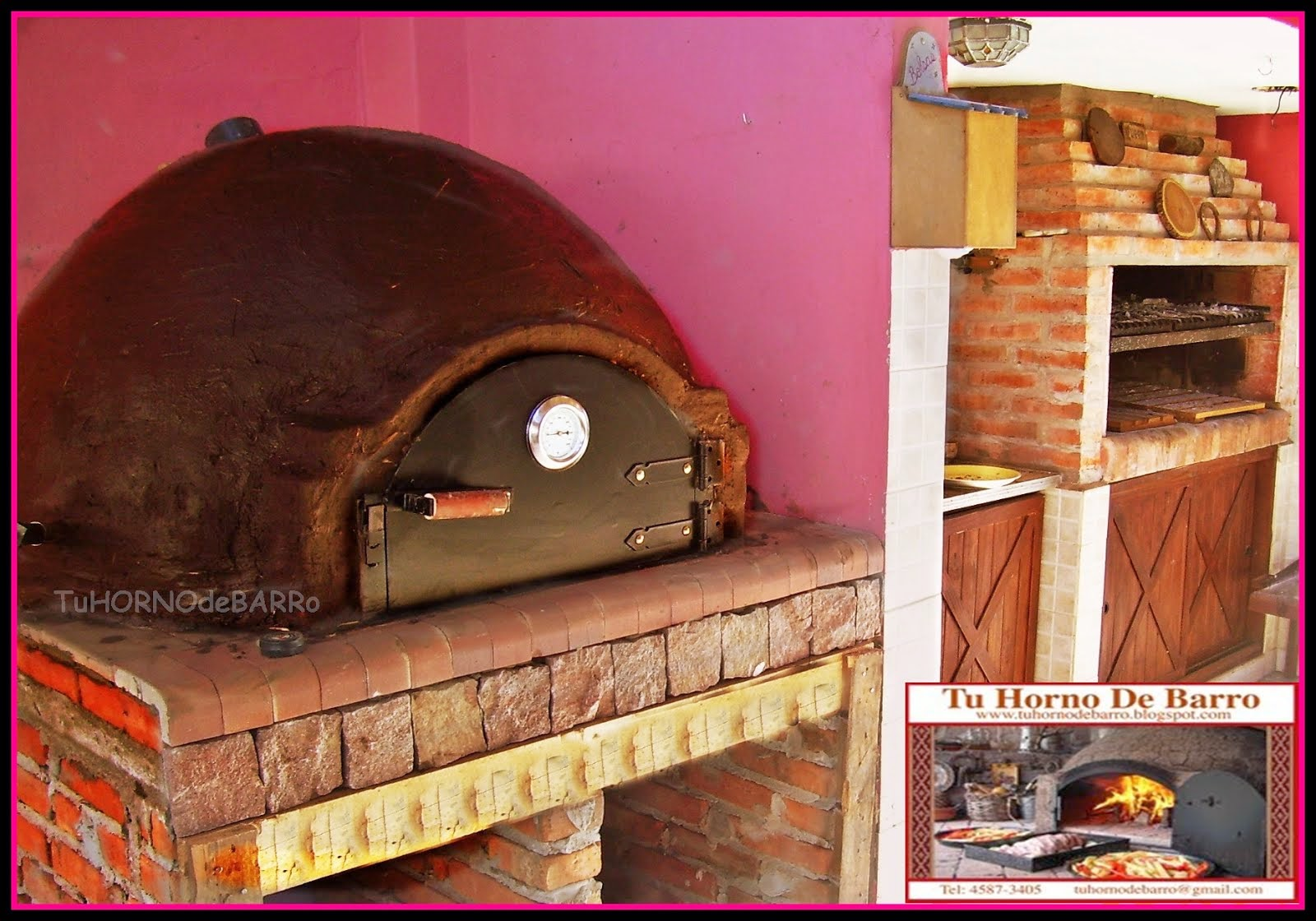 HORNO DE BARRO FAMILIAR