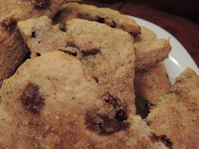 Biscuiți cu fulgi de ciocolată