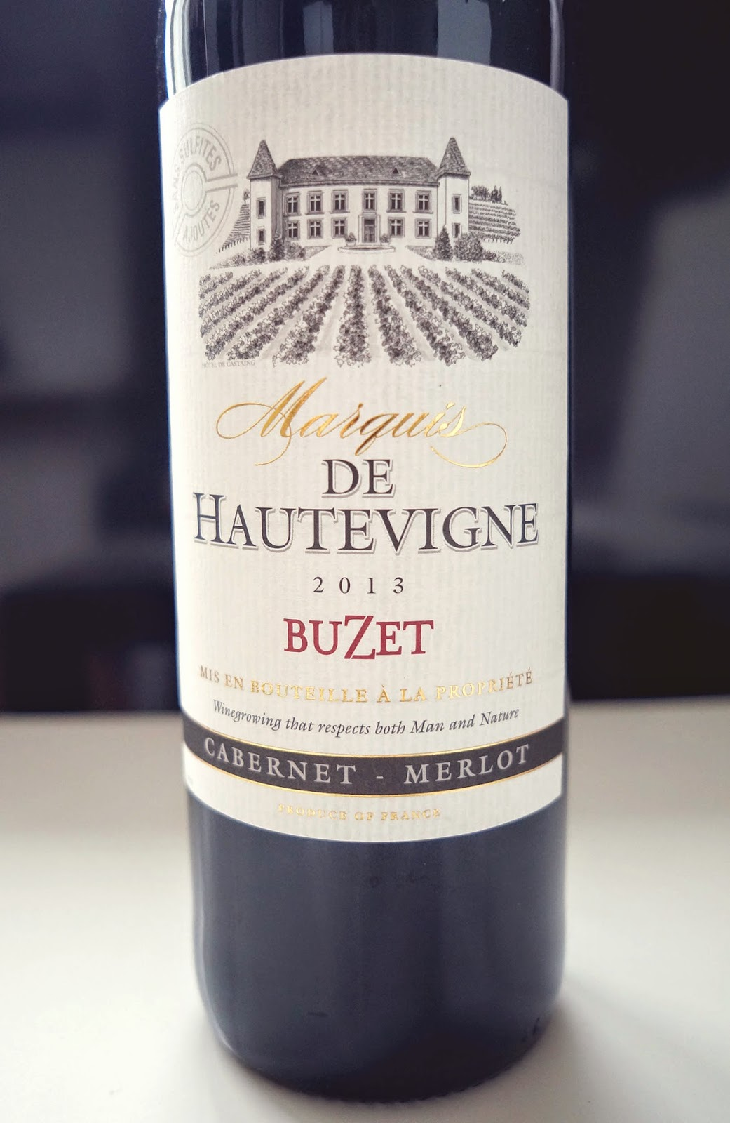 bezsiarkowe wino z Biedronki