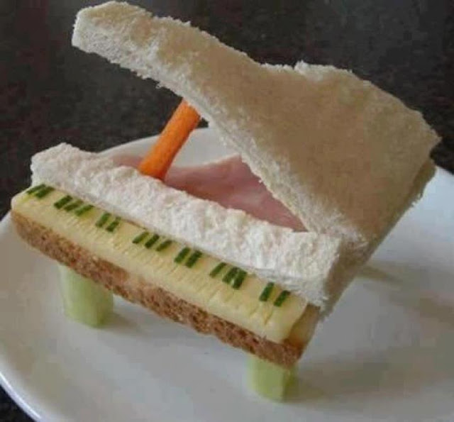 New Piano Sandwich ~ nice creation