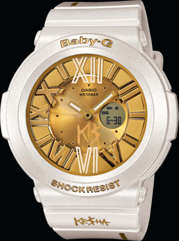 Casio Baby-G BGA160KS-7B Keisha Limited Edition