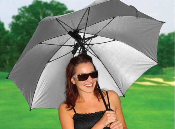 Image result for A summer umbrella with a cooling fan