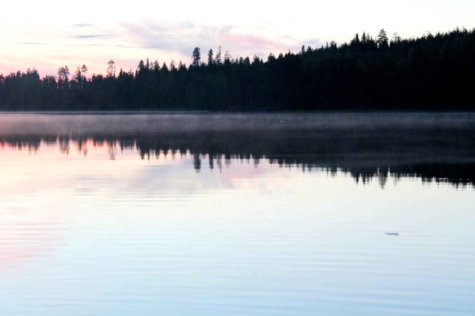 #fog #lake #sea #lakeSaimaa #foggy #evening #morning #sunset #sunrise #twilight #summer #light #photogtaphy
