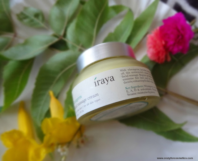 Iraya Wheatgerm Facial Massage Cream