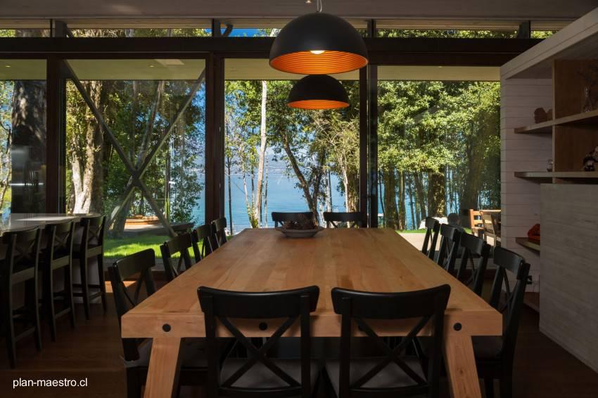 Arquitectura de Casas: Casa de madera para vacaciones al sur de Chile.