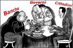 """Politicanti servi dei banchieri"" (Ezra Pound)"