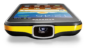 iPhone 6 vs Galaxy S4 Samsung in 2013: Beam vs Projector