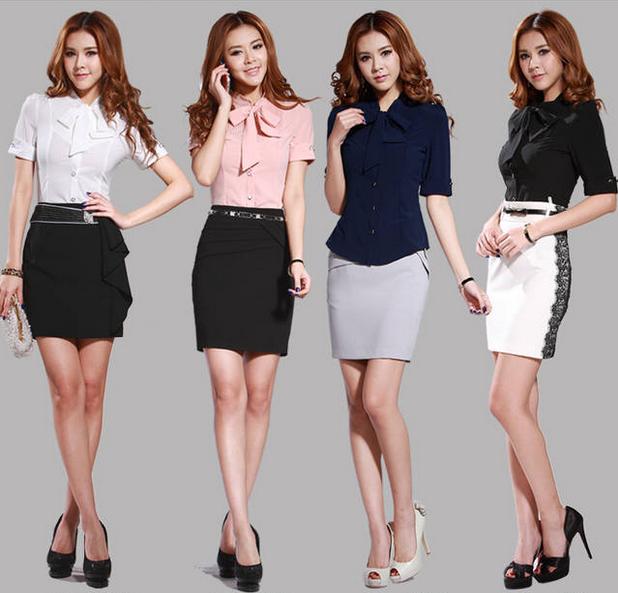 Model Baju Kerja Wanita Terbaru 2015