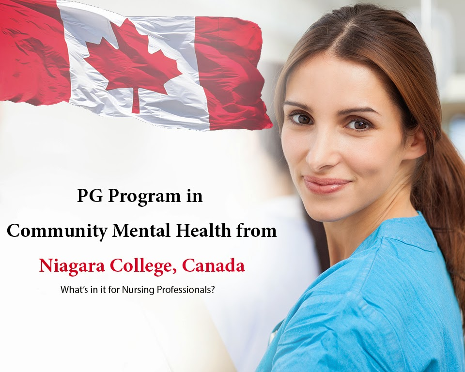 Community Mental Health Nursing from Niagara College, Canada