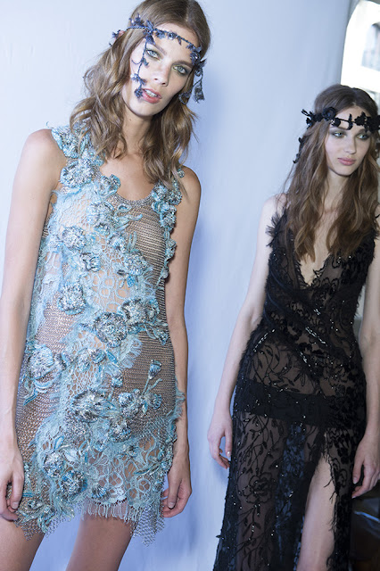 Atelier Versace Fall-Winter 2015-2016 Runway Backstage