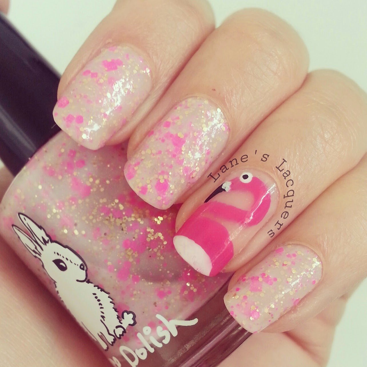 hare-polish-flight-of-the-flamingos-nail-art (2)