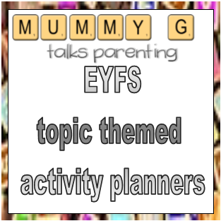 topic themed activity plannerS