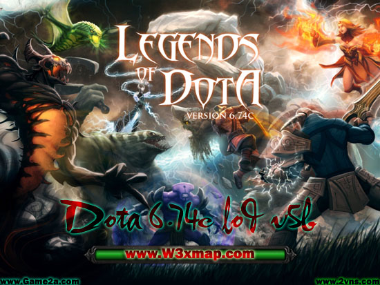 legends of dota 6.74 download