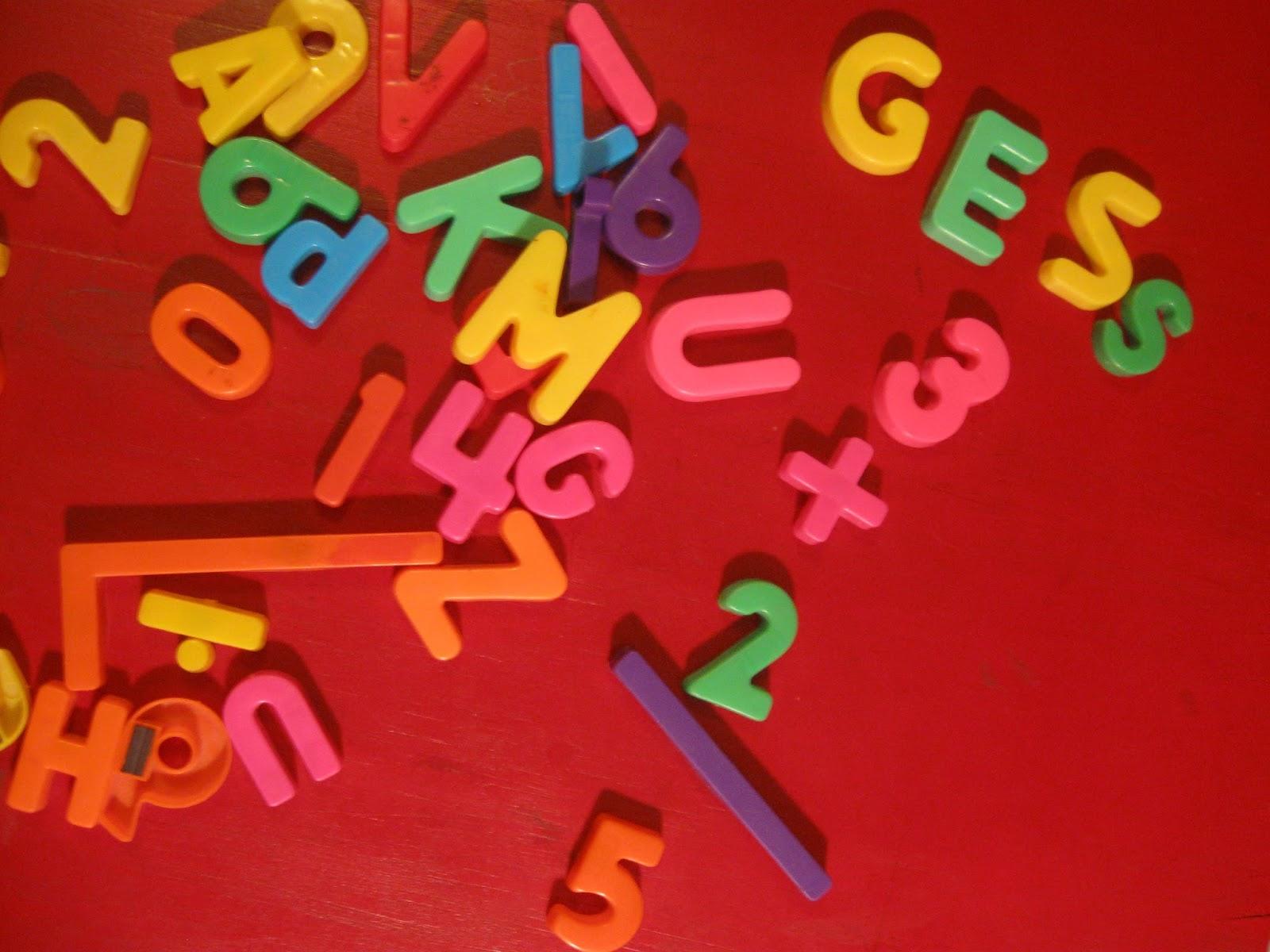 Using Magnetic Letters In Kindergarten