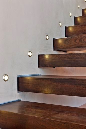 stair lighting : smart ideas , step lights tips and creative ...