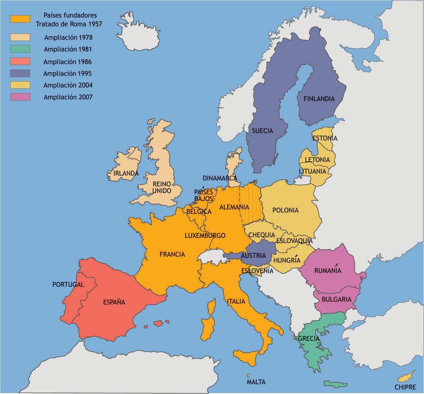 Capitales De Europa Juego Mapa