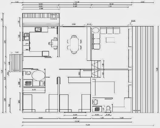 planos casas modernas planos de casas de 90 metros cuadrados