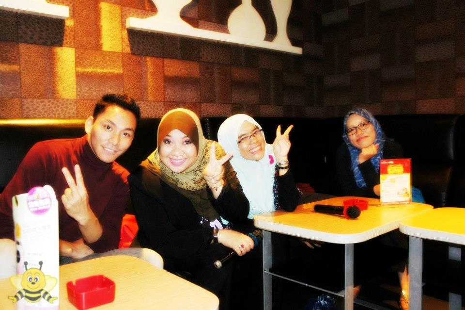 karaoke bersama bloggers