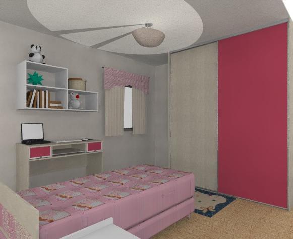 Como decorar um quarto feminino Redecorando sua casa ~ Quarto Rosa Para Jovem