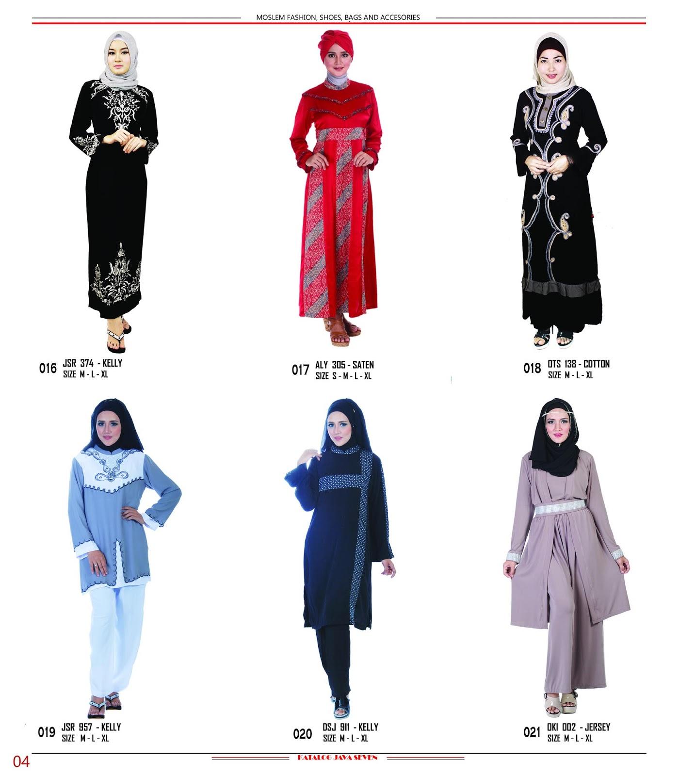 G Di S A3 Fashion Distro Selamat Datan Katalog Buku Baju Gamis