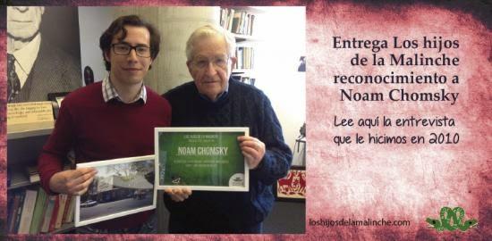 Chomsky con Los Hijos de la Malinche