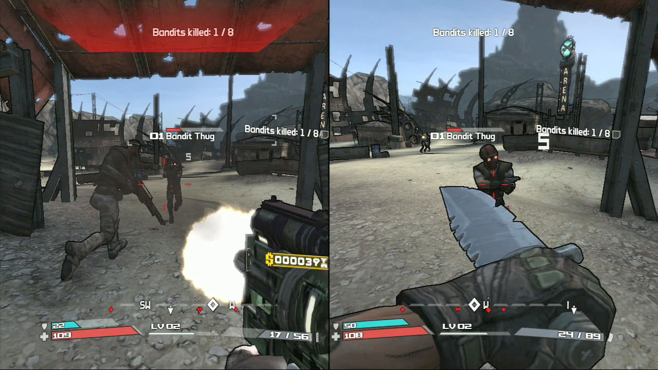 Juegos Coop 2 Jugadores Xbox360 Pantalla dividida LevelOni ... Borderlands 2 Accounts Split Screen Xbox One