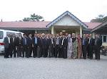 Majlis Kunjung Hormat Wakil Kesatuan Pusat dan Cawangan Kepada Ketua Pengarah Pada 22 Januari 2013