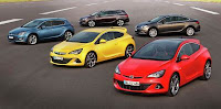 Noua gama Opel Astra