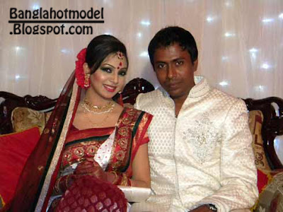 Sadia Jahan Porva with shanto wedding picture