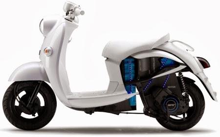 Yamaha EVINO (Foto 1). Majalah Otomotif Online