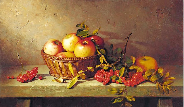 bodegon-con-manzanas-al-oleo