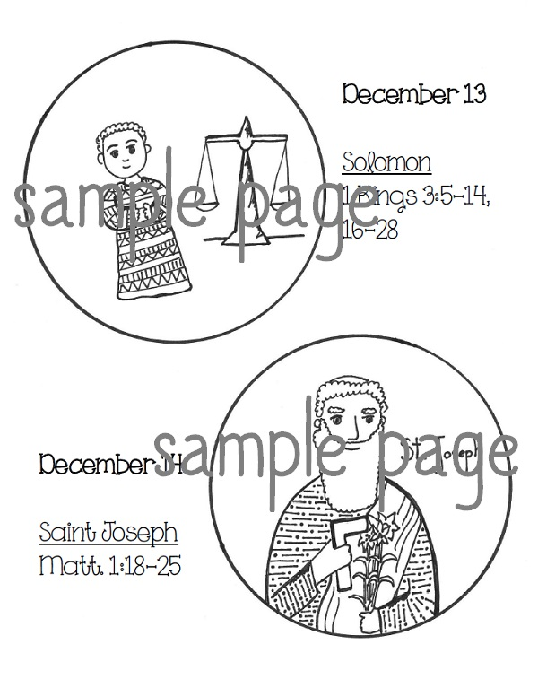 Brand New Jesse Tree Ornaments For Advent 2014 Printables