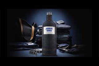Nueva edición Absolut Vodka Denim