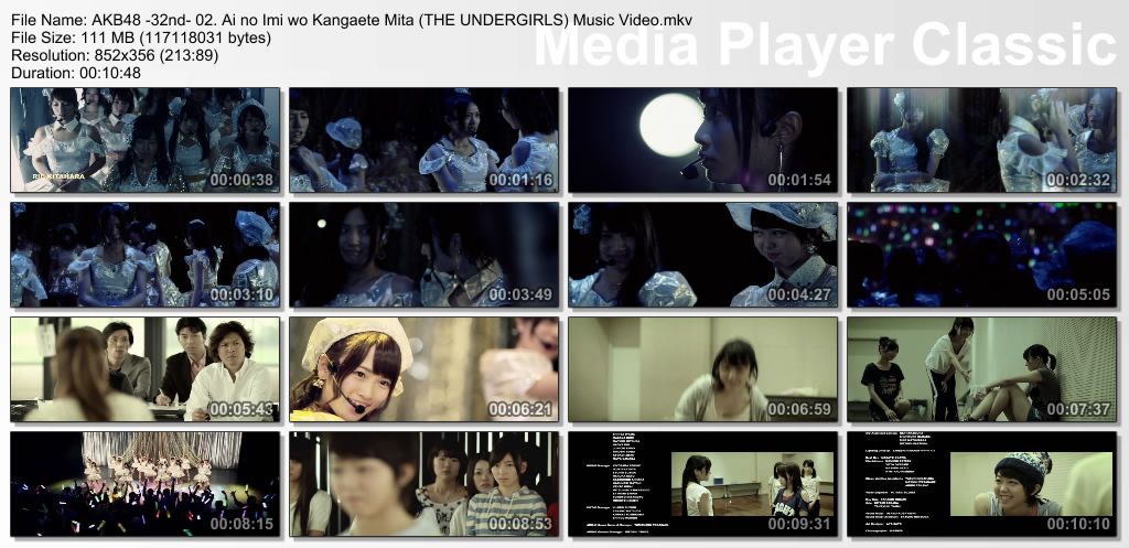 AKB48+-32nd-+02.+Ai+no+Imi+wo+Kangaete+Mita+(THE+UNDERGIRLS)+Music+Video.mkv_thumbs_[2013.08.19_19.06.52].jpg (1024×497)