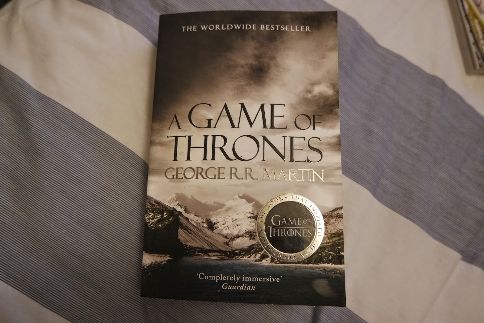 Reading: A Game of Thrones