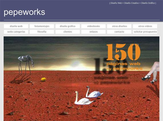 diseño web creativo y profesional, a medida, gran calidad y precios muy competitivos