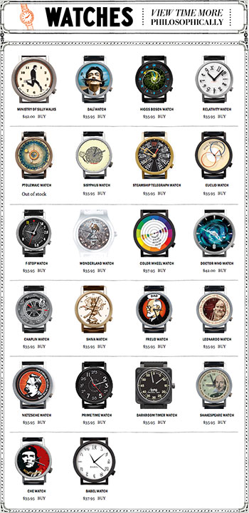 Watches, The Unemployed Philosophers Guild
