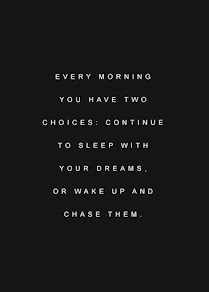 """Tip Tuesday: """"Chase your dreams."""""""