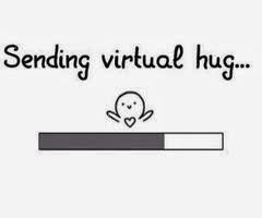 "Provocarea ""Virtual hug"""