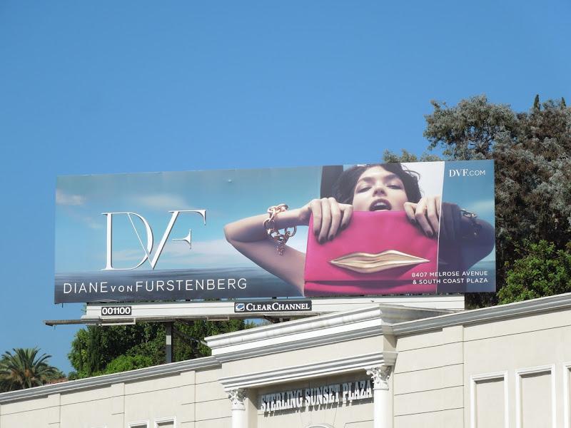 Diane Von Furstenberg FW 2012 billboard