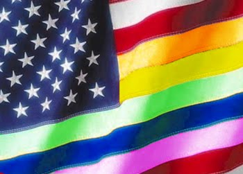 from Troy gay american flag