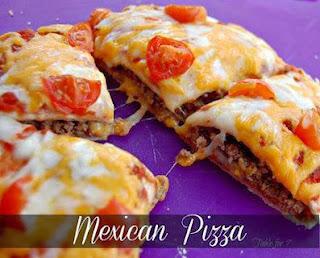 Mexican Pizza  www.bestrecipe4u.com