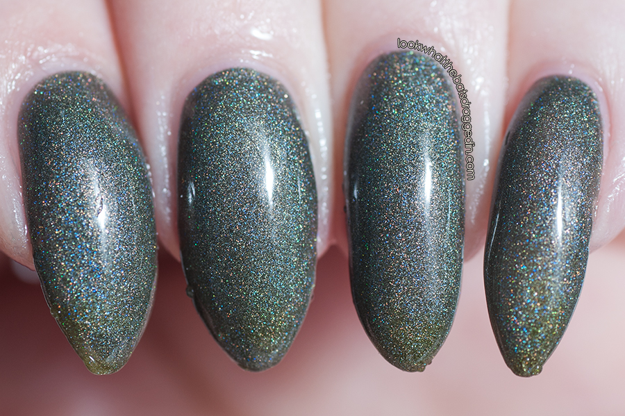 Polished by KPT Fall O You thermal nail polish swatch warm