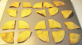 recipe for baked tortilla chips