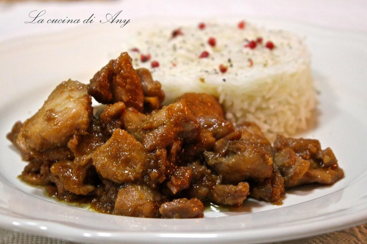 pollo allo zenzero e salsa di soia  - pui cu ghimbir si sos de soia